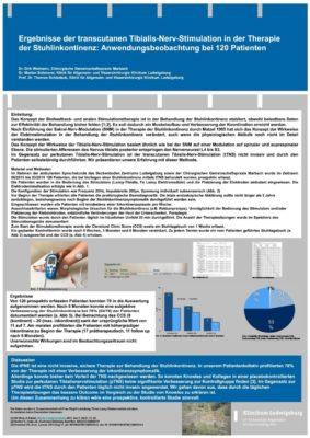 Tibialis Nerv Stimulation, Studie Klinikum Ludwigsburg